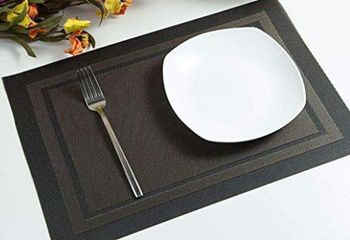 Best Placemats for Wood Table - Artand Heat Resistant Washable Tablemats for Wooden Table