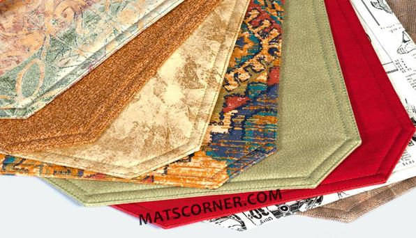 Choosing Stylish Placemats - Vinyl Cotton Woven Quilted - MatsCorner