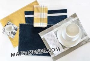 woven cotton placemats