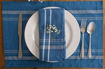 Best Placemats for Wood Table - Washable Heat Resistant Tablemats for Wooden Table
