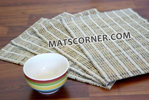natural woven placemats