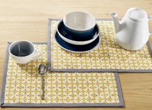 Placemats for Saving Wood Table from Heat and Burn Marks
