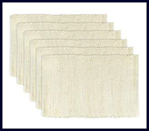 DII Chindi Rag - Best Placemats for Everyday Use