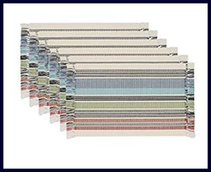 DII Ribbed - Set of 6 Placemats