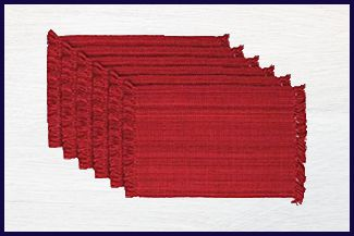 DII Tonal Fringe - Best Woven Placemats