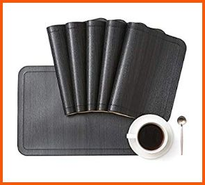 DOLOPL Waterproof & Heat Resistant - Set of 8 Placemats