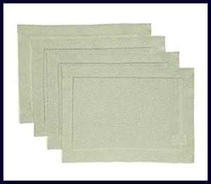 Solino Home Hemstitch - Best Linen Placemats