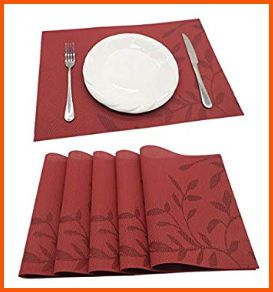 Tennove PVC Table Placemats