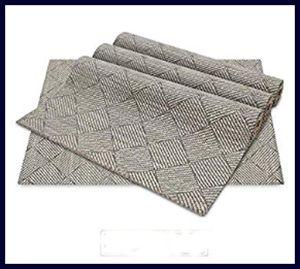 WUFAYHD Soft Fabric Machine Washable Placemats