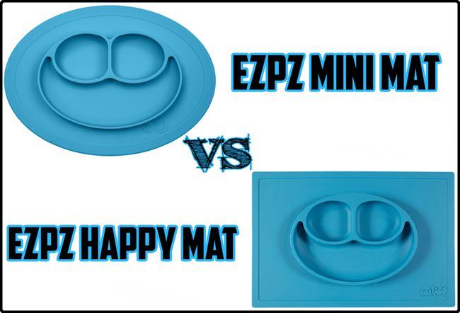 The Ezpz Mini Mat VS The Ezpz Happy Mat