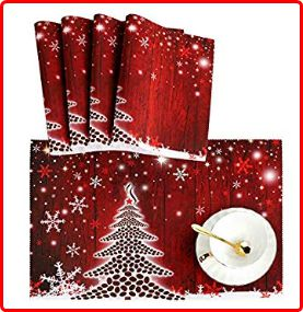 Naanle - Christmas Placemats for Kids