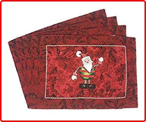 Tache Santa Claus Placemats for Christmas Eve