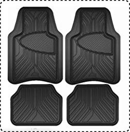 Armor All Custom Car Floor Mats – Set of 4 Pieces
