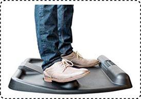CUBEFIT Terramat | Best Anti Fatigue Mat for Sit Stand Desk