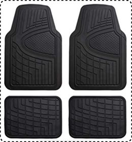 FH Group F11311 Rubber Mats for Car