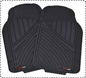 Motor Trend MT-773 Rubber Mats for SUVs, Cars, & Vans