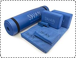 Sivan Health and Fitness Yoga Mat Set