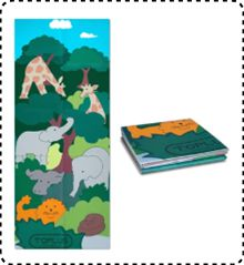 TOPLUS Yoga and Exercise Mat for Little Yogis