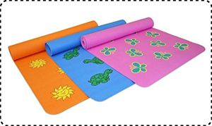 YogaDirect Workout Mat for Small Yogis