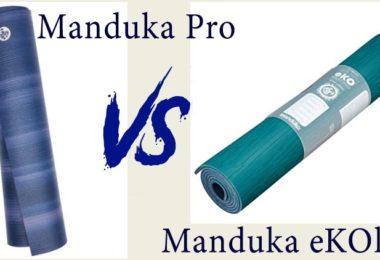 Manduka Pro vs. Manduka eKOlite Yoga Mat | Detailed Comparison