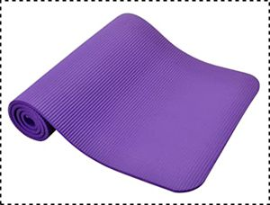 BalanceFrom GoYoga Yoga Mat with Knee Pad
