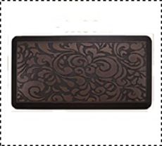Butterfly Long Anti Fatigue Mat for Kitchen