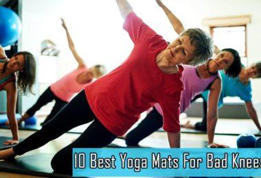 10 Best Yoga Mats For Bad Knees
