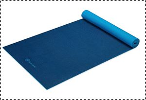 Gaiam Thick and Lightweight Yoga Mat