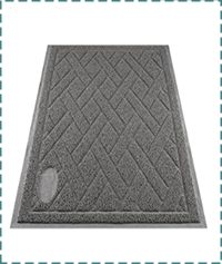 Pawkin Cat Litter Mat – Heavy Duty and Non Slip