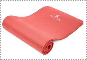 Prosource Fit Yoga Mat with Comfort Foam