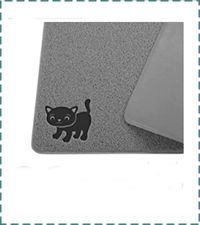 Smiling Paws Pets Litter Mat - Tear & Scratch Proof