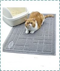 Vivaglory Soft and Mess Control Cat Litter Mat