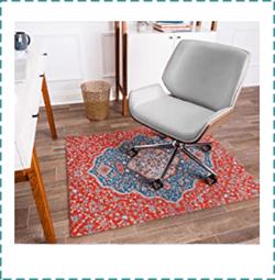 Anji Mountain Rug Style Chair Mat