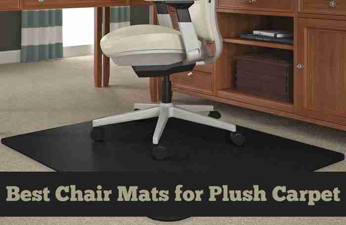 Best Chair Mats for Plush Carpet [Effortless Movement & Protection]