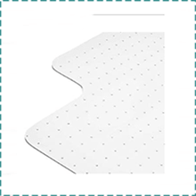 DoubleCheck Chair Mat for Heavy Person