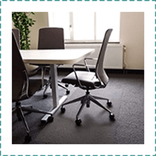 Floortex Extra Large Chair Mat for Carpet