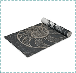 Gaiam Sticky and Non Slip Yoga Mat