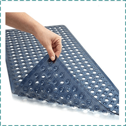 Gorilla Grip Original Antibacterial Bathtub Mat