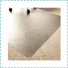 Marvelux Transparent Office Chair Mat