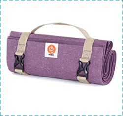 YOGO Mat with Carrying Strap – Best Travel Yoga Mat