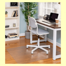 Ilyapa Extra Large Office Chair Mat for Hardwood Floor