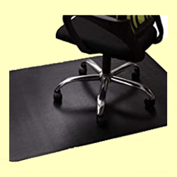 Lesonic Non-Skid Chair Mat for Wooden Floor