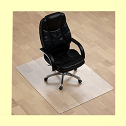 MuArtsBeveled Edges Chair Mat