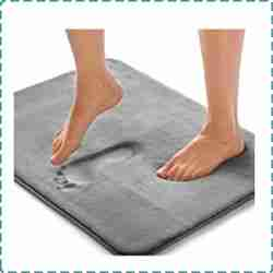 Gorilla Grip Thick Memory Foam Bath Rug