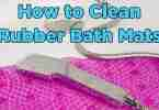 How to Clean Rubber Bath Mats