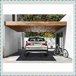 Kalasoneer Washable Garage Floor Mat