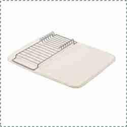 AmazonBasics Dish Drying Mat with Rack