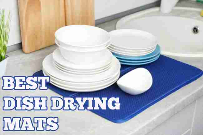 10 Best Microfiber and Silicone Dish Drying Mats