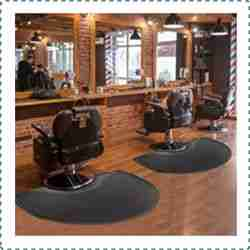 Crablux Barber Shop Chair Mat