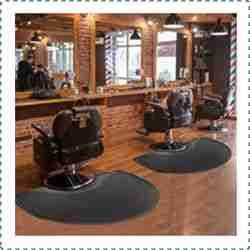 Crablux Barber Shop Chair Mat